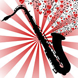 Saxophone-love music