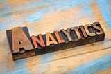 analytics - wood type banner