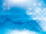 Technology background blue futuristic abstract with bright lights.