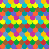 Multicolored tiling seamless texture.