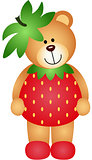 Strawberry Teddy Bear