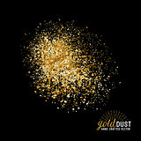Vector Gold Dust