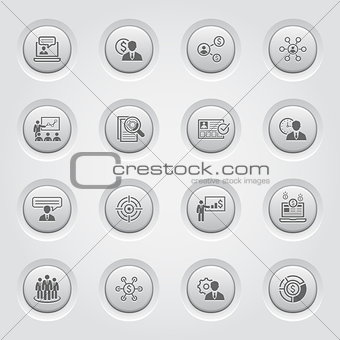 Business and Finances Icons Set