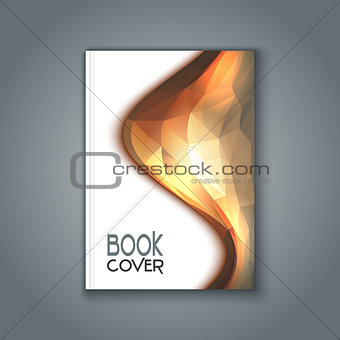 Abstract design book cover