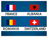 European soccer cup - group A