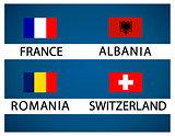 European soccer cup - group A