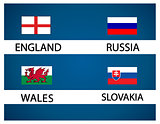 European soccer cup - group B