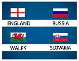European soccer cup - group B