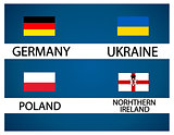European soccer cup - group C