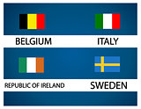 European soccer cup - group E