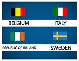 European soccer cup - group E