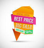 Big Sale Best Price Banner.