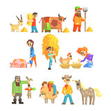 Collection Of Animal Farm Illustrations