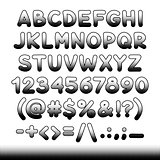 Comic Font Black Offset Print