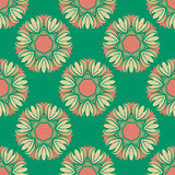 Seamless pattern in the style boho