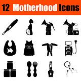 Set of motherhood icons