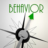 Behavior on green compass