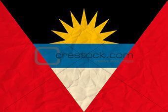 Antigua and Barbuda  paper  flag