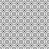 Pattern with circles and dots,