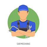 Car Mechanic Concept