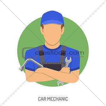 Car Mechanic Concept