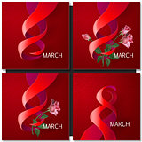 Happy Womens Day Paper Design