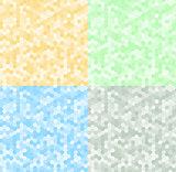 Seamless texture gray hex grid. Vector Illustration.