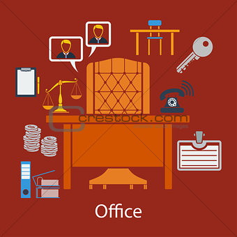 Business flat design