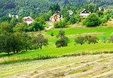 View on Banska Stiavnica (Slovakia)