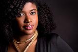 black upscale woman