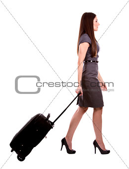 business woman travelling
