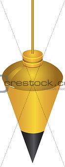 Brass Plumb Bob