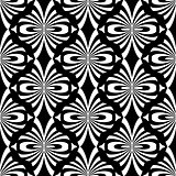 Seamless decorative pattern. Oriental design.