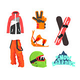 Snowboarding Gear Collection