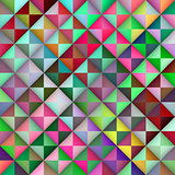 Vector Seamless Multicolor Gradient Triangle Tiles Geometric Pattern