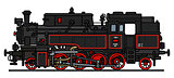 classic steam locomotive