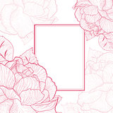 Rose Flower Vintage Frame