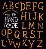 Creepy Ancient Handmade Lettering