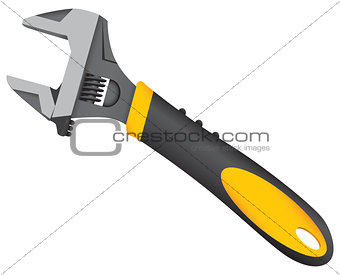 8-Inch Adjustable Wrench