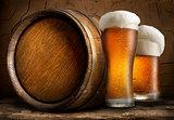 Beer in cellar