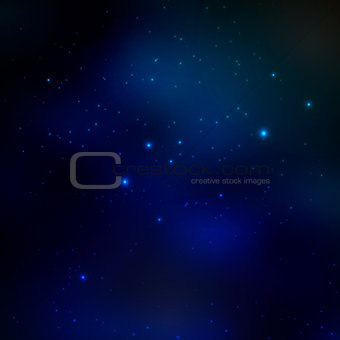 Beautiful space abstract background. Eps 10