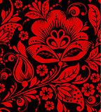 Hohloma seamless pattern