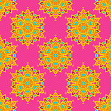 Ethnic Festive Abstract  Vector Pattern