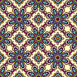 Seamless pattern gift wrap vector
