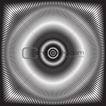 Abstract circular background.