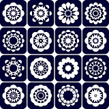 Design elements. Decorative patterns set.