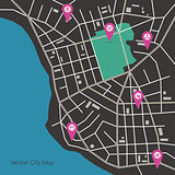 Vector city map