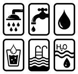 black water concept symbols