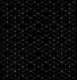 Scratchy Hexagon Seamless Pattern