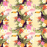 Tropical Geometric Floral
